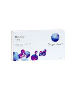 لنز طبی آستیگمات کوپرویژن بایوفینیتی